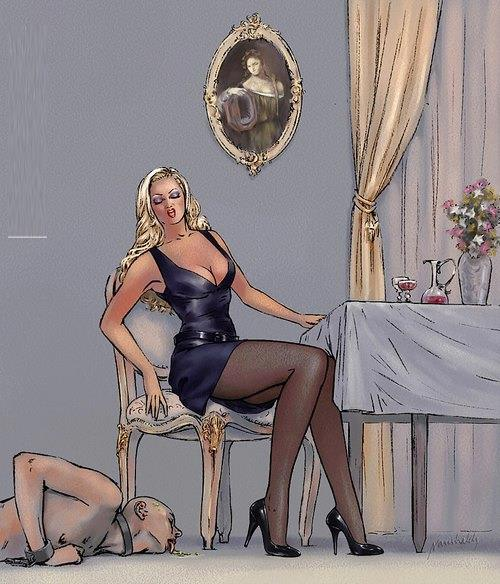 dominación femenina Cajero automático